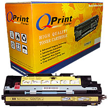 Compatible HP Q2682A Yellow Toner Cartridge