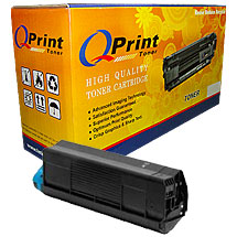 Compatible OKI C3100 Yellow color Toner Cartridge