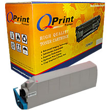 Compatible OKI C9300 Yellow color Toner Cartridge